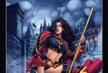 The Magdalena / Comic books