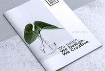 Brochure Templates / #brochure #promotion #brochuretemplate #template