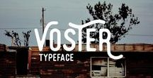 Fonts & Typography / Fonts collection and typography tips #font #fonts #typography #brush #handlettering