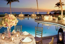 Beach Fête / Beautiful beach and nautical wedding details.