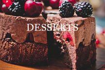 DESSERTS / by Hannah April