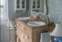 bathroom design / by Linda Bussiere