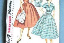Patterns, Sewing, Vintage / by Vickie Nicholas