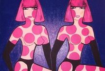 Paintings by Gabriella Parádi / Acrylic paint by Gabriella Parádi