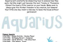 Aquarians!