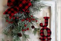 it's the most wonderful time of the year / I love Christmas  and I  love being creative with decorations for all holidays