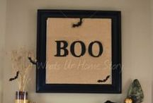 halloween projects / by Trudy Holtz