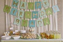 Bradley's 1st Birthday