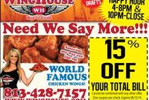 Temple Terrace & University of Florida Coupon / Offers / by The Waiting Game Publication
