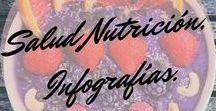 Salud Nutricion Infografía / Este tablero es mas que informativo, sobre todo lo que tenga que ver con nuestra #Salud y saber que existen medicina naturales que curan o ayudan a calmar dolores etc. #Inforgrafia #propiedades #Frutas #Verduras #Semillas