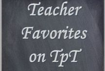 Teacher Favorites on TpT / Collection of our favorite TpT and educational resources!