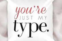Just My Type / alittleleafy.etsy.com  Type, typography, funny, funny sayings, words, phrases, quotes, sayings, famous quotes, movie, music, lyrics, phrases, gifts, gift, punny, puns, jokes, word play, bold, society6, simple, minimal, minimalists, design, graphic design, art, prints, home decor