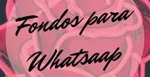Fondos para Whatsapp ♡ / Soy de las que les gusta cambiar constantemente el fondo de mi #whatsapp. Estoy segura que ellos también varían dependiendo de mis estados de ánimo de los días. También los utilizo como #fondo de pantalla y de bloqueo de mi movil.  #Fondos #Background #Wallpaper #Pink #Desktop