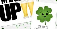 Luck Of The Irish / alittleleafy.etsy.com  green, st. patrick's day, st paddy's day, st. pats, patties, paddys, saint patrick's day, saint Patrick, saint, lucky, luck, luck of the irish, luck o the irish, Irish, kiss me I'm Irish, four leaf clover, clover, leprechaun, march 17, funny, funny shirt, parody, fun, joke, silly, Happy St. Patrick's Day, clover, lucky charm, pot of gold