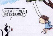 Liniers - Macanudo / Ricardo Liniers Siri es un ilustrador y artista Argentino. Creador de Olga, Madariaga,Enriqueta,