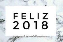 Frases de Feliz Año Nuevo 2018 / Frases para darle la bienvenida a 2018 Encontra aqui la postal o tarjeta que estas buscando para desear un #FelizAñoNuevo 2018 a tus amigos o familiares.