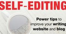 """Blogging, writing, editing tips / The ebook """"Essential Guide to Self-Editing"""" gives readers over 40 writing tips, blogging tips and editing tips to highlight common errors, encourage plain language and good structure, highlight the value of a catchy headline and a powerful first paragraph, explain the difference between commonly confused words (affect/effect, loose/lose, etc), and give lots of examples. Available from Amazon https://www.amazon.com/dp/B075YWNSSG"""