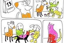 Komiksy / Bagroszyt.pl to serwis, którego głównym celem jest rozwój dziecięcej wyobraźni. Sprawdźcie kreatywne i zabawne komiksy z naszymi bohaterami w roli głównej!