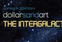 2014 Dubai Dollar Project Intergalactic$   / Second 28 day solo exhibition to be held during March & April 2014 at The Media One Hotel in a bid to  make art more accessible.