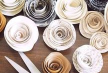 Paperikukkia - Paper flowers