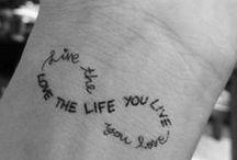 Tattoos / Someday, maybe
