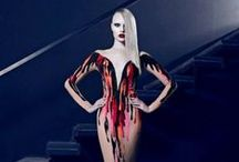 HALLOWEEN HAUTE COUTURE / Turn your wardrobe into a frightfully elegant Halloween costume. Happy Halloween!