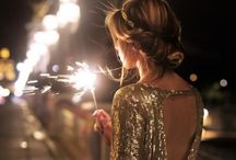 NEW YEAR'S EVE / Party wear and entertaining ideas for the New Year