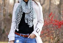 LOTS OF LAYERS / Fashionable layered style transitioning from Winter to Spring