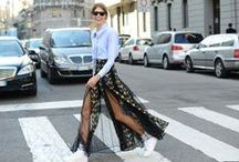 SNEAKERS + SKIRTS COMBO / How to style sneakers with your favorite skirts & dresses for Spring