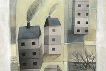 ilustracje - domki