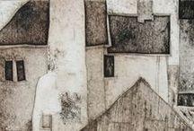 - malarstwo - domki