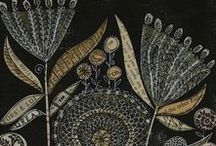 - malarstwo - sztuka - szare brązy pastelowe