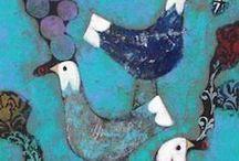 - malarstwo - ptaki