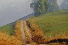 - malarstwo - pejzaż natura