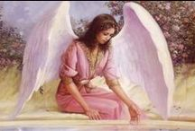 Angel by My Side !!!! / Psalm 91; 11, For He will give His angels charge concerning you, To guard you in all your ways. / by (A walk with Jesus) Teresa