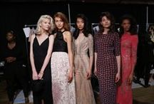 Backstage at the Jenny Packham SS15 Show / by Jenny Packham