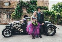 Steampunk wedding / Steampunk wedding photography in the heart of Kent! If you love alternative weddings, you will love this.