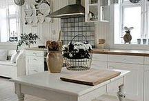 Keittiö on kodin ♥ / Unelmointia keittiöistä