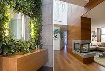Rośliny we wnętrzach / Aranżacja zieleni we wnętrzach