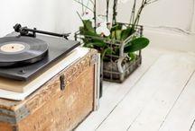 RECORDS / I LOVE records! And really want a pale blue Crosley record player! / by SYLVIE GRACE