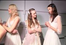 Backstage at the Jenny Packham 2016 Bridal show