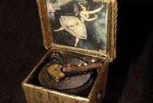 collection //  boites à musique / music box / by Patricia Jouanneaud