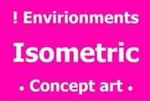 ! Isometric art •