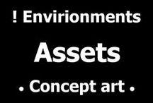 ! Assets • Concept art