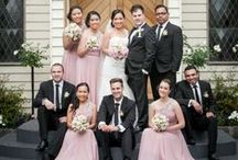 { Bramleigh Bridal Parties } / Bramleigh Bridal Parties, a great way to see colour, flowers, and style of dresses.