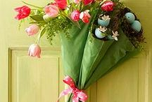 Spring DIYs and Ideas / Spring crafts, easy decorations, room decor, and DIY projects.