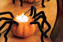 Halloween!! :D / Halloween decorations that I like. Starred ones can be used in dorm room. :) / by Olivia Jameson