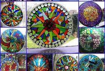 Mosaics and garden art