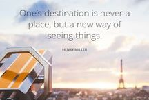 Simple TRAVEL QUOTES GET INSPIRED A board for the dreamers the wanderlusters the
