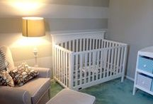 Nursery Inspirations / Modern, fresh nursery ideas for girls and boys - lots of neutral decor and themes.